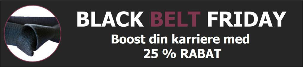 Six Sigma Black Belt Black Friday