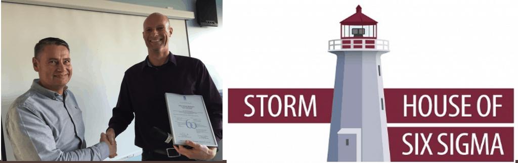 Kåre Smidt Mattesen fra Pronova/BASF Danmark - Certificeret Black Belt