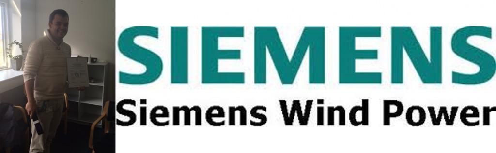 Dennis Frank Brokholm fra Siemens Wind Power er blevet Black Belt