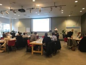 2nd International Lean Six Sigma Conference 2017. Marcus Sørensen indleder.
