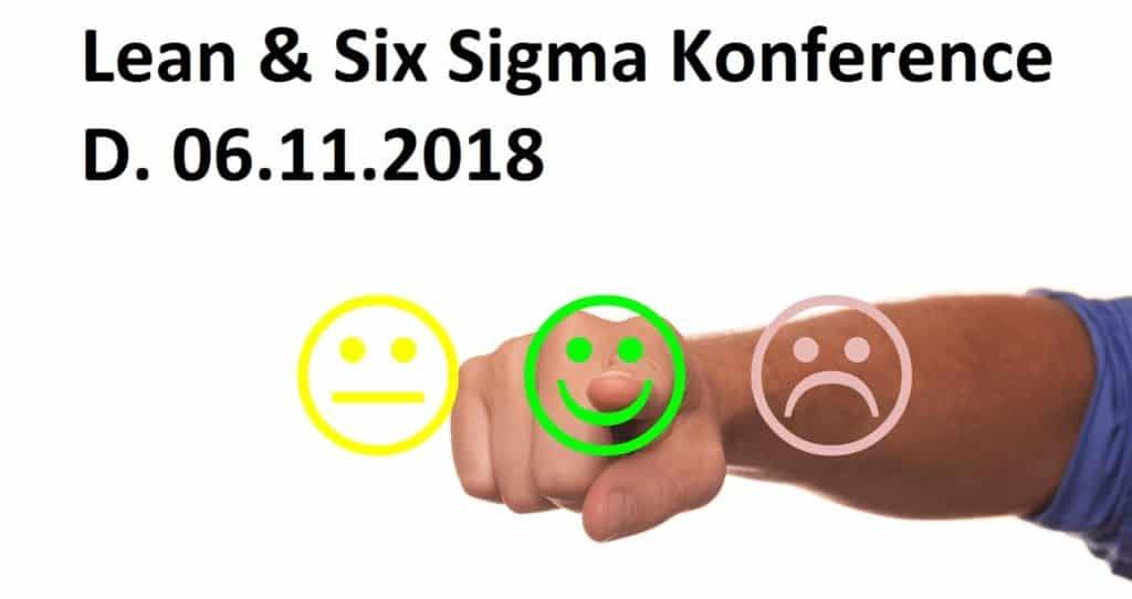 Lean og Six Sigma konference 2018 i Odense.