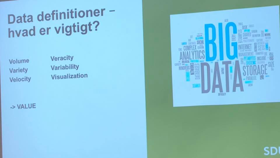 Big Data konference 2018 referat