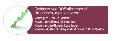 DOE Design of Experiments hos Storm