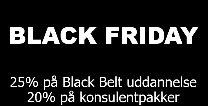 Black Friday Six Sigma
