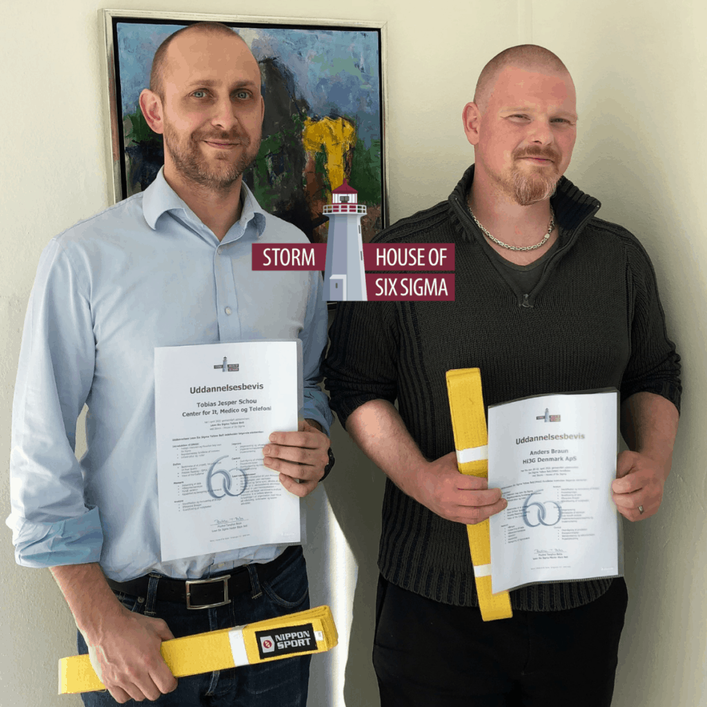 To nye Yellow Belts